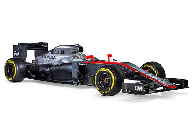 McLaren MP4-30 vyráží do boje o vavříny s Hondou, Alonsem a Buttonem
