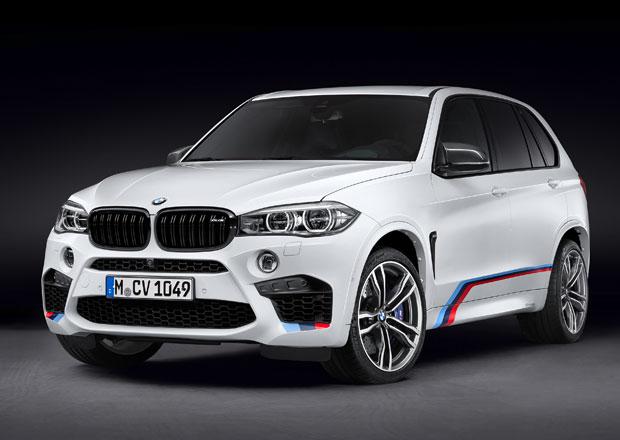 BMW X5 M a X6 M 2015 s doplňky od M Performance Parts