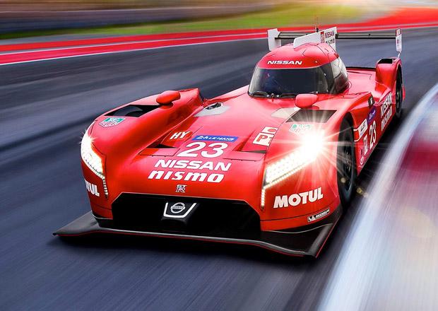 Nissan GT-R LM Nismo: Japonsk� zbra� s motorem vp�edu pro Le Mans ofici�ln�