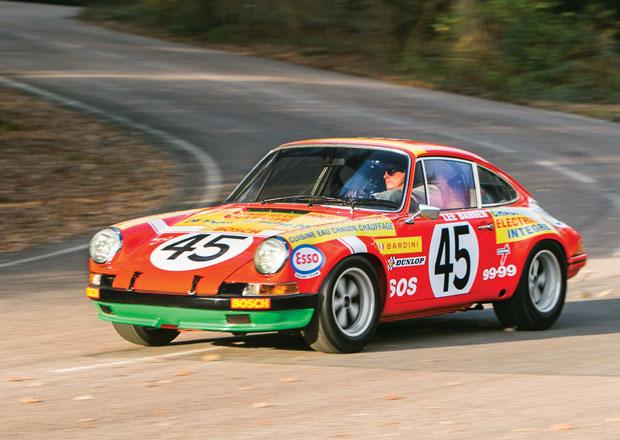 Vzácné soutěžní Porsche 911 S míří do dražby (+video)