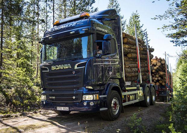 Rok 2014 byl pro značku Scania úspěšný