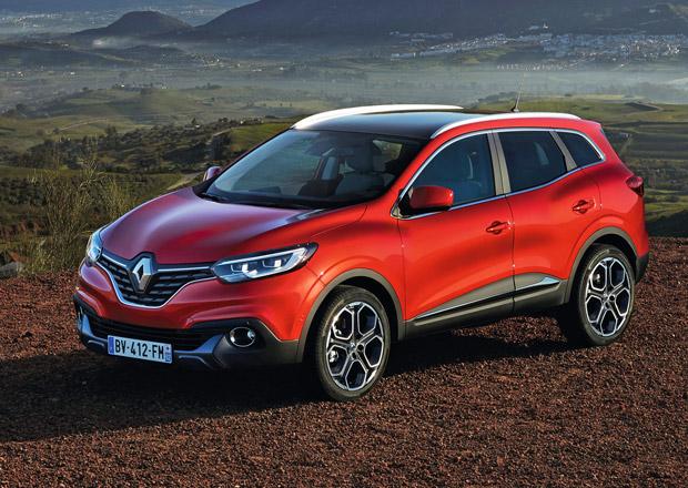 Renault Kadjar: Nov� crossover se bude v �R prod�vat od �ervna
