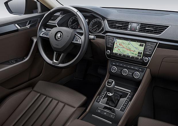 Škoda Superb III: Přístrojová deska se odhalila
