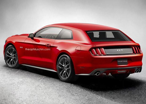 Ford Mustang 2015 jako shooting brake? Proč ne...