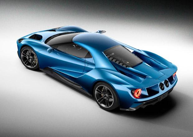 Ford GT byl i v rámci automobilky přísně utajovaný projekt