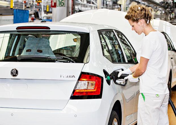 Škoda Auto zvýšila výrobu modelů Fabia aRapid Spaceback