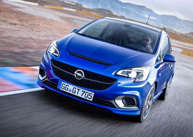 Opel Corsa OPC 2015 oficiálně: 207 koní a samosvor od 504.900 Kč