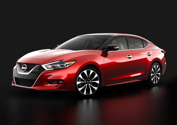 Nissan Maxima na prvních oficiálních fotografiích