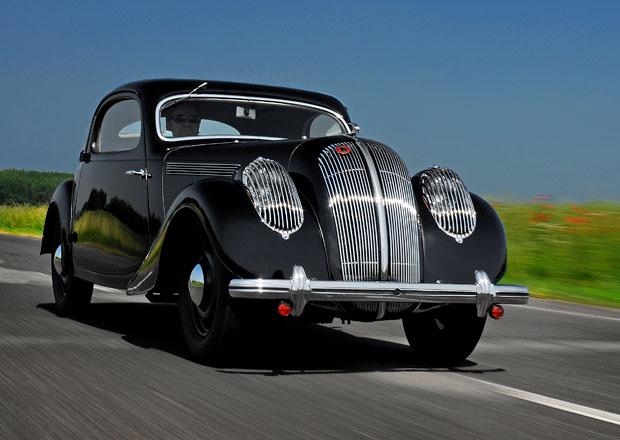 Na pařížské výstavě Rétromobile se objeví i čtyři historické Škodovky
