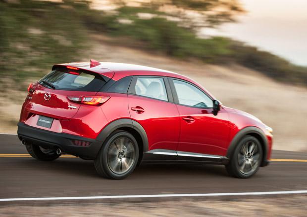 Mazda p�edstav� v �enev� z�plavu novinek: CX-3, novou 2 i vylep�enou 6