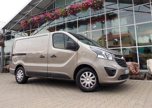 Opel Vivaro Van 1.6 CDTI: Více práce