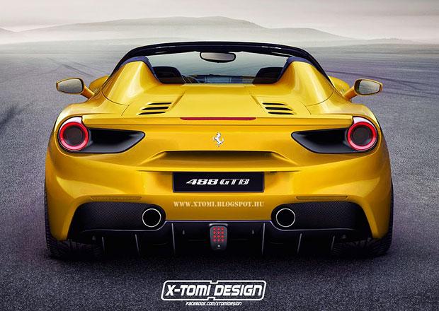 Ferrari 488 GTS: Reálný model se nejspíše příliš lišit nebude