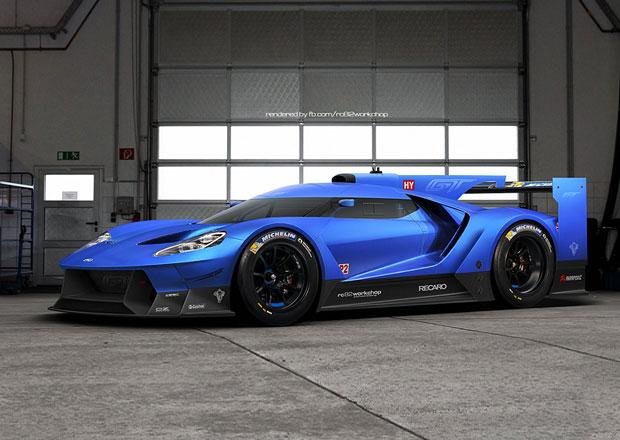 Ford GT: Vize závodní verze pro Le Mans 201?