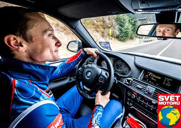 Rozhovor s Ondřejem Moravcem: Žena za volantem mi nevadí