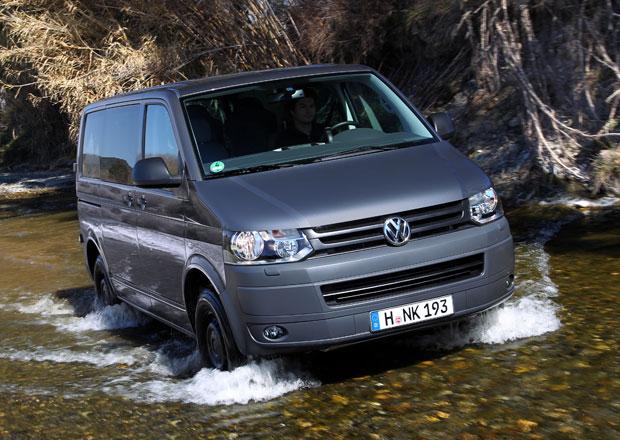 Volkswagen T5 s pohonem 4Motion: Obývák do terénu