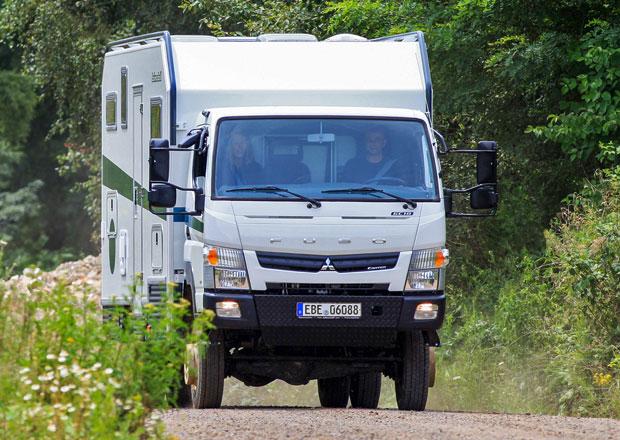 Fuso Canter 4x4 jako karavan pro dobrodruhy