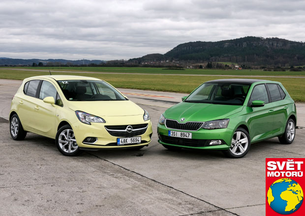 Opel Corsa 1.0 Turbo vs. Škoda Fabia 1.2 TSI