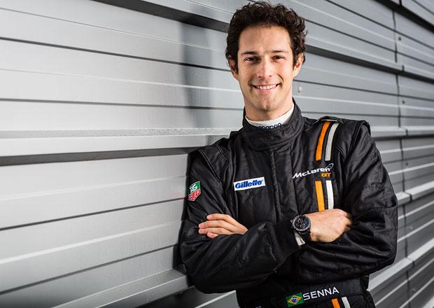 Bruno Senna továrním jezdcem McLaren GT