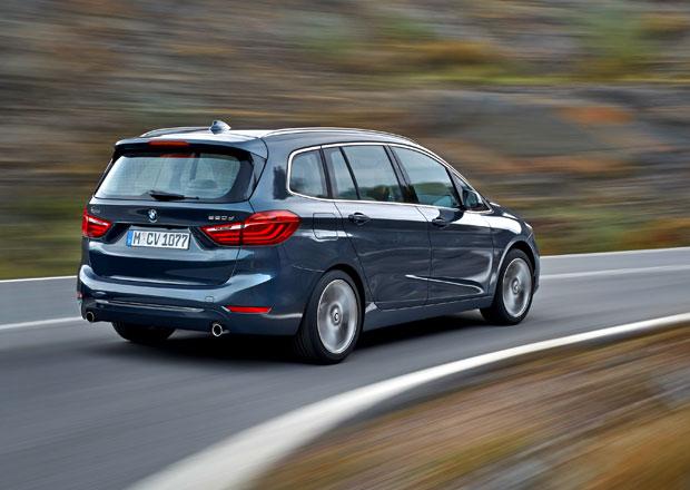 BMW 2 Gran Tourer: Sedm míst, pět motorů, čtyři linie výbav