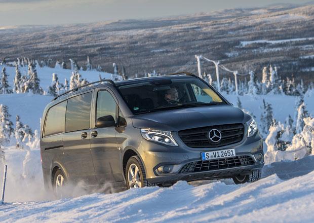 Mercedes-Benz Vito 4x4 se představuje