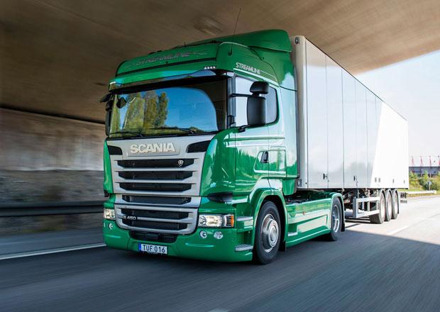 Scania uspěla v projektu Clean Truck