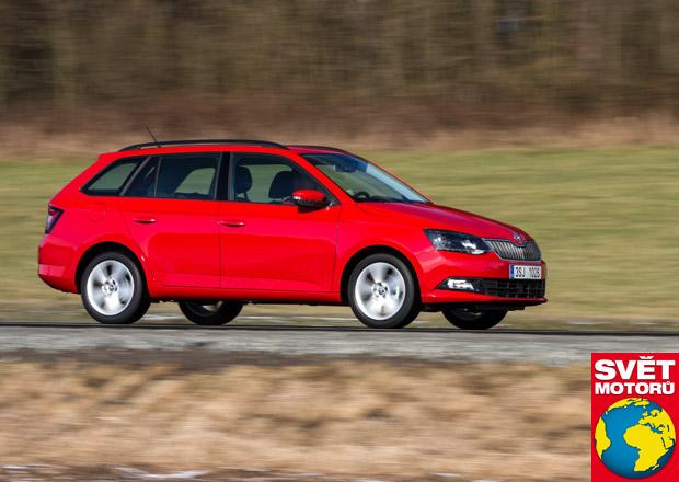 Škoda Fabia Combi 1.0MPI – V zátěžovém testu uvezla 555 kg!