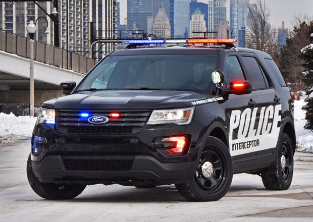 Ford představuje nový Police Interceptor Utility (+video)