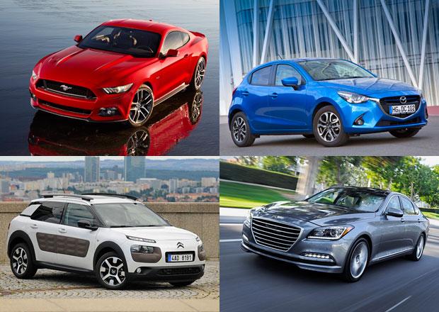 Světové auto roku 2015: Mezi finalisty nechybí Cactus či Passat