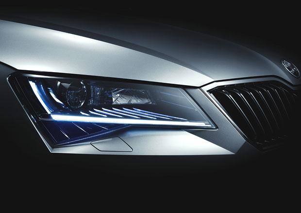 Škoda Superb III se začala odhalovat, máme první detaily