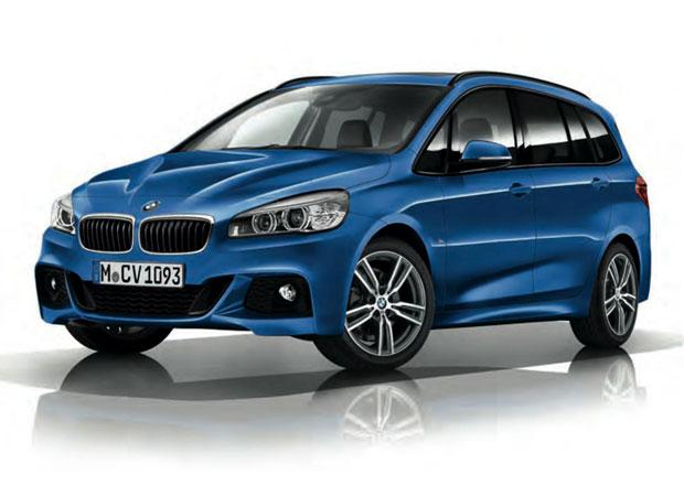 BMW 2 Gran Tourer s paketem M Sport: S rodinou sportovně