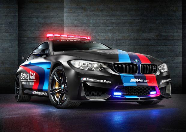 BMW M4 MotoGP Safety Car 2015 představeno, má inovativní vstřikování... vody