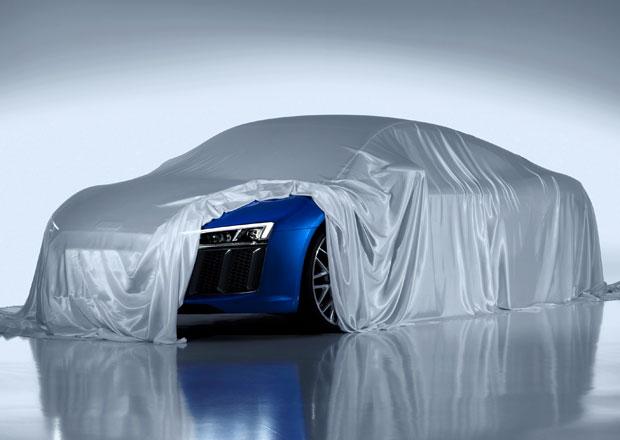 Audi R8 2016 se začíná odhalovat: Ukázalo laserový světlomet