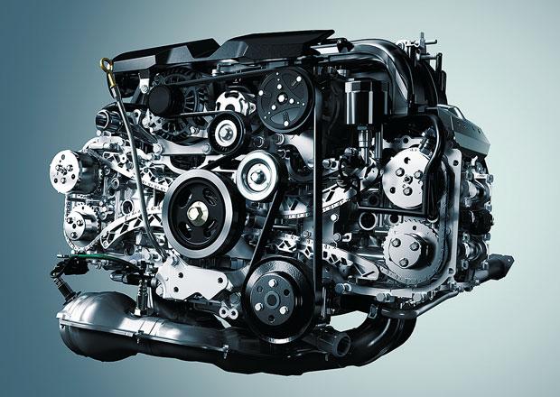 Subaru: 15 milionů vyrobených motorů typu boxer