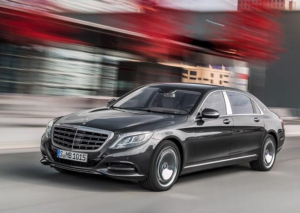 Mercedes-Maybach S: 3,6 milionu Kč za osmiválec, 5milionů za dvanáctiválec
