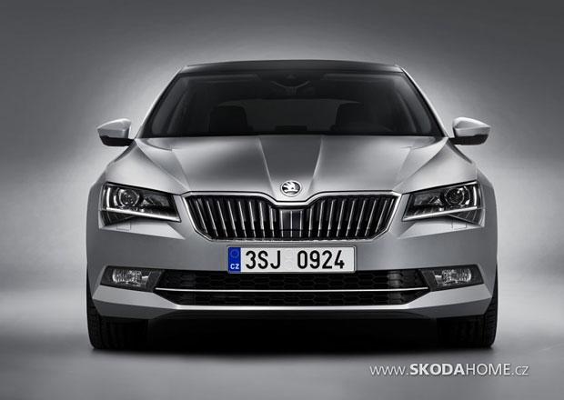 Škoda Superb III: Na internet unikly první fotografie