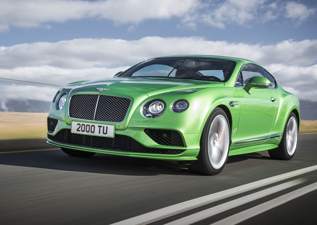 Bentley: Facelift pro Continental GT a Flying Spur