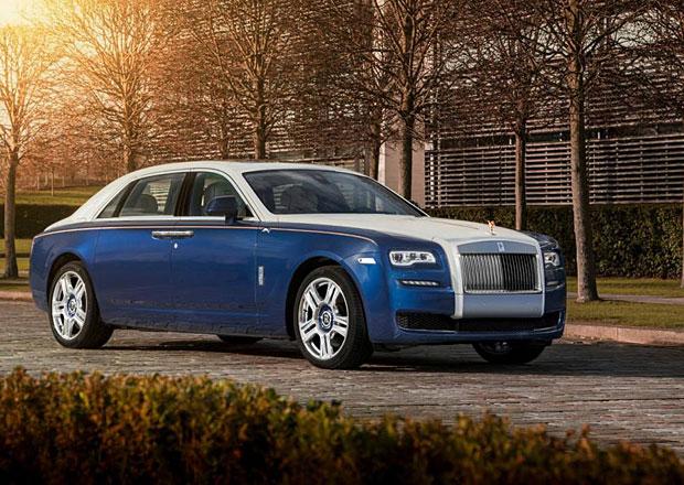 Rolls-Royce Ghost Mysore Collection: Pyšný jako páv