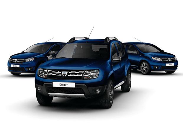 Dacia 10th Anniversary: Speciální modely ve znamení modré