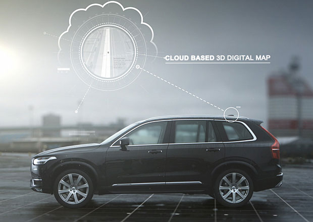 Volvo pokračuje s vývojem autonomního řízení vozů (+video)