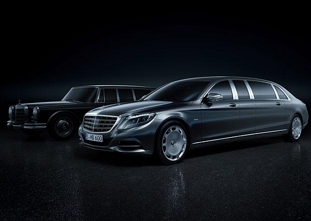 Mercedes-Maybach Pullman: V12 biturbo a délka 6,5 metru