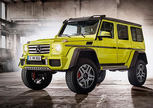 Mercedes-Benz G 500 4x4<sup>2</sup>: Čtyřlitrový V8 se dvěma turby a nové fotky