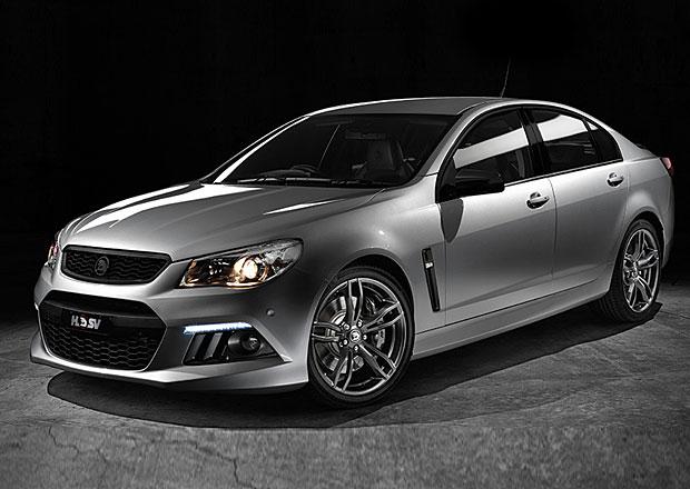 Holden Senator SV: Sportovně luxusní limitka od klokanů