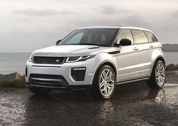 Range Rover Evoque 2016: Nový diesel, LED světla a změny vzhledu