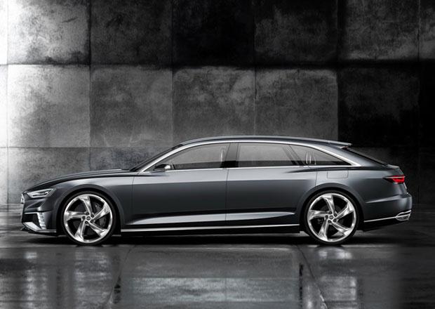 Audi Prologue Avant se ukáže v Ženevě, má motor z Q7 e-tron a 455 koní