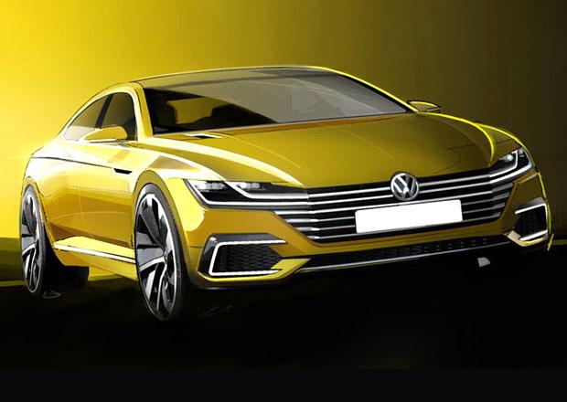 Volkswagen CC: Koncept nov� generace na prvn�ch skic�ch