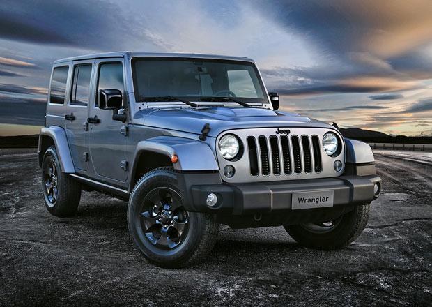 Jeep Wrangler Black Edition II: Speciální verze pro Evropu