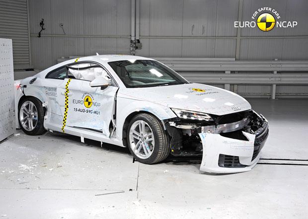 Euro NCAP 2015: Audi TT – Čtyři hvězdy pro kupé