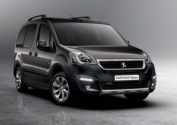 Peugeot Partner 2015 dostal tvář osobních modelů