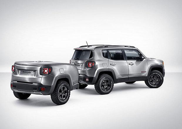 Jeep Renegade Hard Steel: Ocelový odpadlík spřívěsem