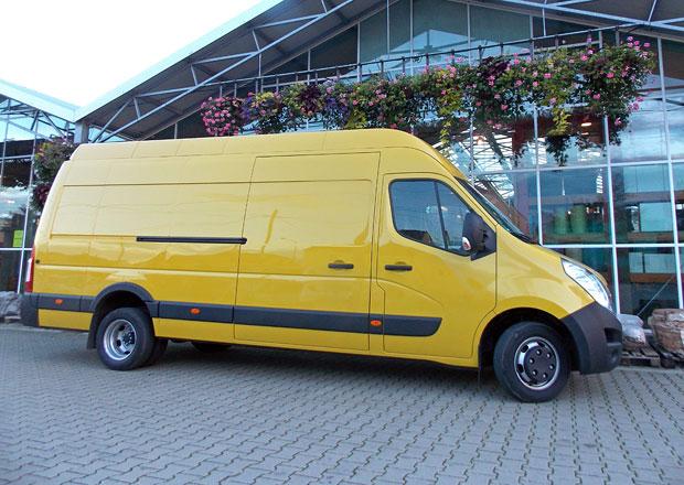 Opel Movano L3H3: Střela